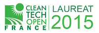 Lauréat 2015- CleanTech open